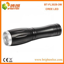 Fabrik Versorgung Mini High Power Portable Aluminium Zooming Tasche Led Cree 14500 Taschenlampe mit 1 * AA oder 14500 Akku