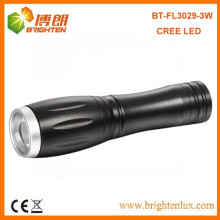Factory Supply Best White light Bright Small Powerful Beam Adjustable Focus Cree led Mini Torch with 1*AA or 14500 battery