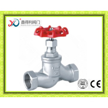 2016 China Factory Screwed End 200wog Casting Globe Valve