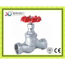 2016 Китай Завод Завинченный конец 200wog литья шаровой кран