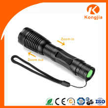 High Lumen Aluminum Alloy Best LED Torch Light