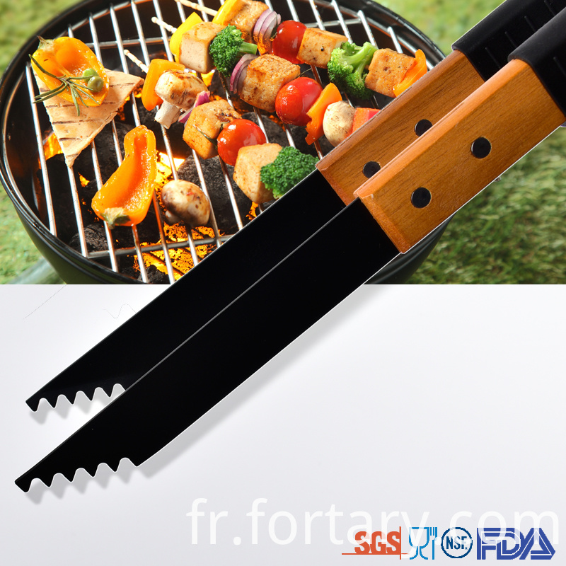 Blackening Barbecue Tools