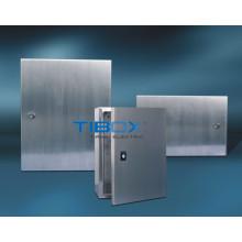 Gabinetes eletrônicos de alumínio de porta solteira