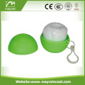 Poncho Ball Key Chain Football Raincoat