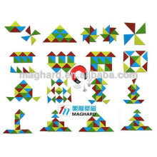 wholesale magnetic custom simple diy paper print jigsaw puzzles for kids education