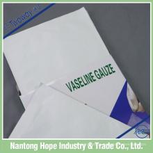 embalagem de gaze de gaze de parafina única