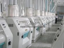 100t Wheat/corn flour processing equipment (HBA-07)