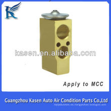 Auto partes de la válvula de expansión de aluminio para MCC