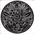 Réplique Serviette De Plage Ronde Chanel 100% Coton