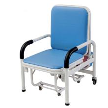Klappbarer Begleitstuhl für Krankenhauspatienten