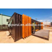 Profissional dubai container house / container expansível para venda / porta móvel
