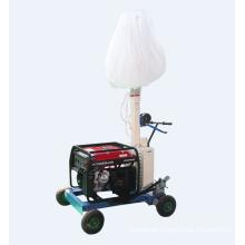 Tragbarer Lichtmast des Dieselgenerator-Beleuchtungsturms