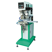 Пневматический 2-Цвет принтер пусковой площадки с челноком (СП-100S2A, чернила лоток)