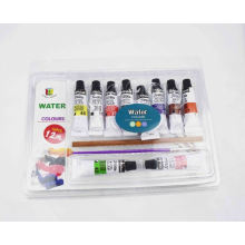 12ml diy 12pcs watercolor paint set