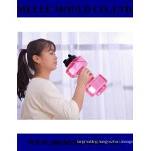Melee Dumbbell Shape Bike Sport Plastic Water Bottle