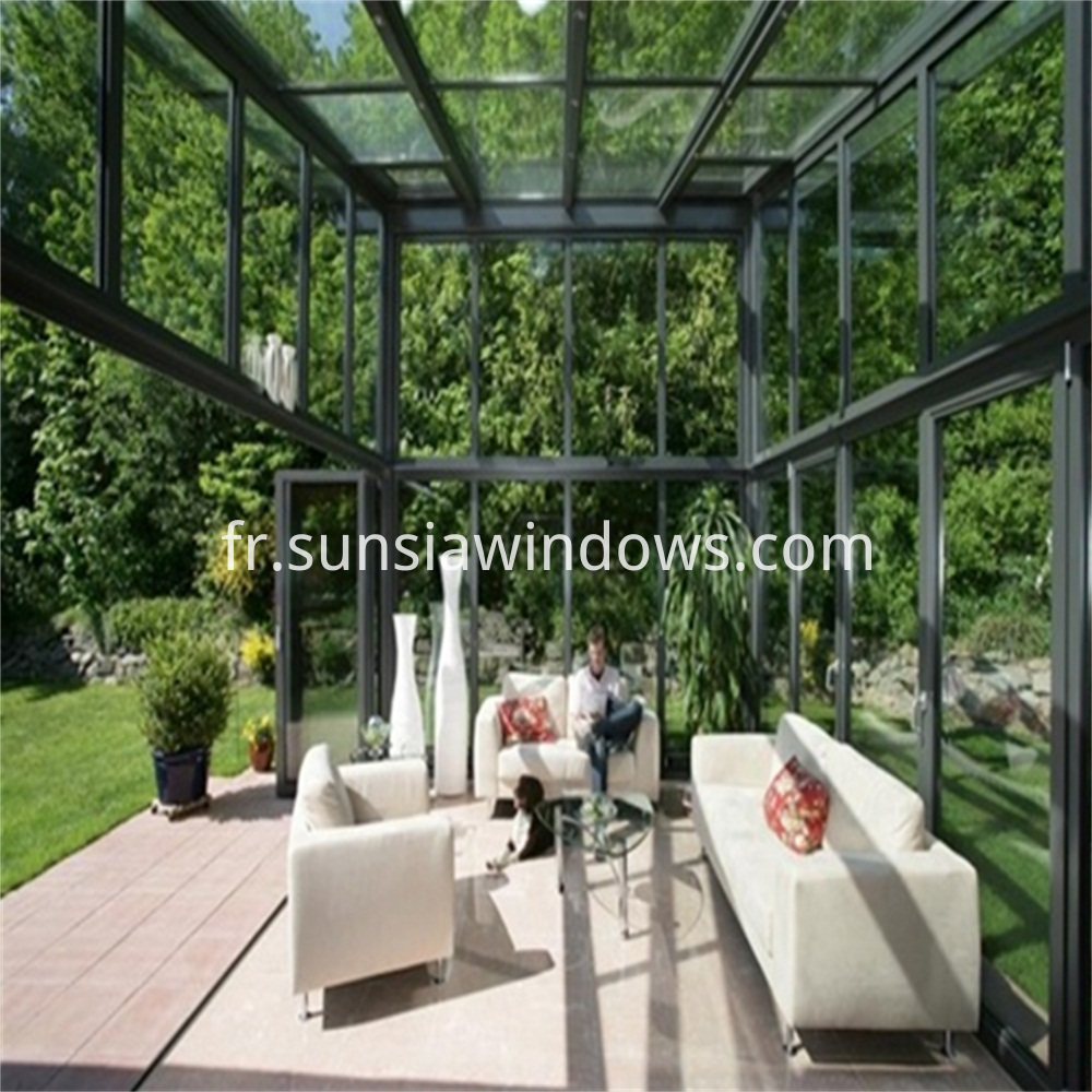 Tempered Insulated Glass House