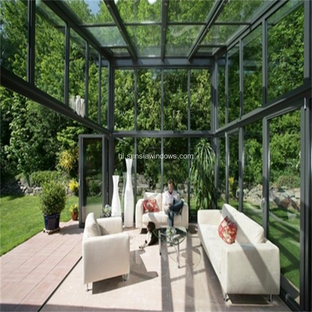 ऊर्जा-बचत Tempered Insulated Glass House