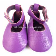 Venda por atacado crianças adoráveis Mary Jane Summer baby girl sapatos de couro