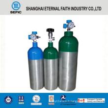 Cylindre de gaz en aluminium à haute pression de 2L (LWH108-2.0-15)
