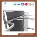 Wooden Display Stand with Dressing Mirror