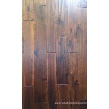 Nuevo suelo de madera sólida diseñado diseñado suave del grado del Acacia del abcd