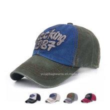 Boné de beisebol promocional barato por atacado e chapéu