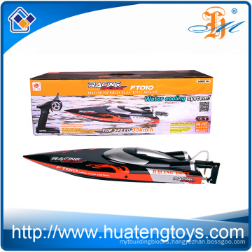 2016 Feilun Newest 2.4G rc boat FT010 water cooling 35km/h high speed battery power r/c racing boat for sale