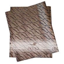 En vente africaine headtie gele sego en 100% polyester tissu