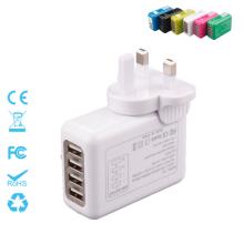 Quatre ports 5.4A Chargeur de charge interchangeable