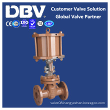 Pneumatic Operated Casting Flanged Gate Valve