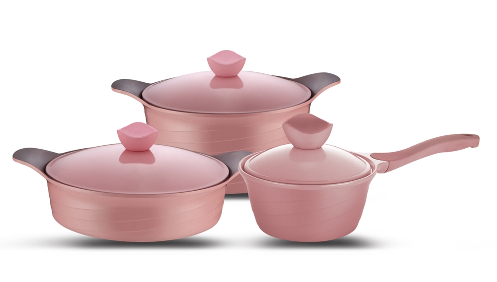 Die Cast Aluminum Cookware Set