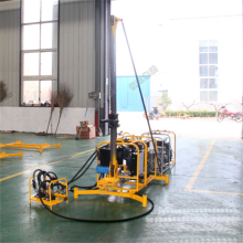 Rock core auger drilling machine