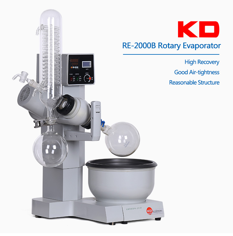 RE-2000B Industrial Rotary Evaporator For Sale