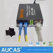 Computer Ethernet Media Konverter China Markt Digital TV Signal Spannungen Fiber Media Converter Getriebe 10 / 100m