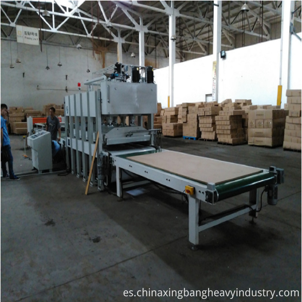 Shortcycle Hot Press Machine for Veneer, Honeycomb SHOW