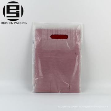 Cheap troquelado bolsas de plástico de alta definición hdpe boutique