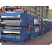 Fornecedor de sanduíche de poliuretano painel máquina China descontínuo