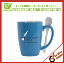 Propaganda bonita logotipo impresso requintado xícara de café de cerâmica