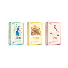 Поп-дизайн Пользовательские чайные подарочные коробки