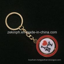 Fashion Promotional Custom Rotate Keychain