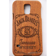 2016 Nueva Llegada para iPhone Wood Case Bamboo Wood Over