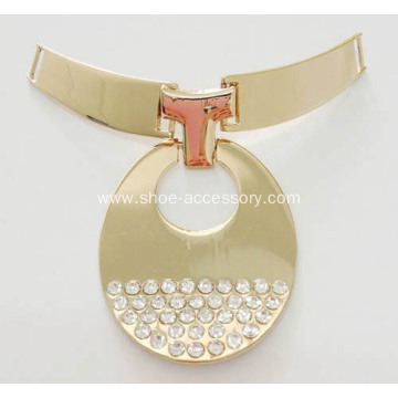 Fashion Rhinestone Shoe Buckle for High Heel