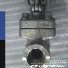 Female Thread Hand Wheel Operation Gate Valve
