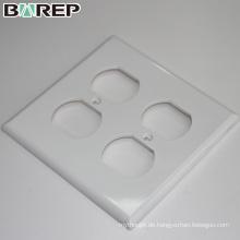 Hochwertiges Polycarbonat-Material GFCI Lichtschalter Abdeckplatte
