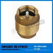 Venta caliente válvula de retención de latón con núcleo de plástico (BW-C03)