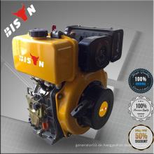 BISON China Taizhou Luftgekühlter Einzelzylinder 5.5HP 6.5HP 7HP 9HP Diesel Motor
