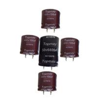 Snap in Aluminum Electrolytic Capacitor 105c Tmce18-16