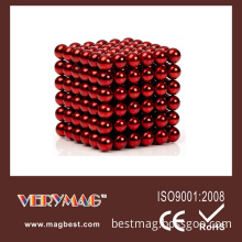 5mm 216PCS/Set Red Color Neocube, Magnet Ball, Buckyball (Red)