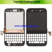 para Blackberry Q5 LCD con pantalla táctil digitalizadora con marco