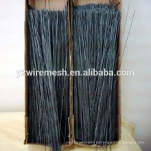 China hohe Ausbeute & Qualität gerade geschnitten schwarz geglüht Draht